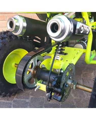 Quad Toxic E-Start 50cc - Dettaglio Posteriore
