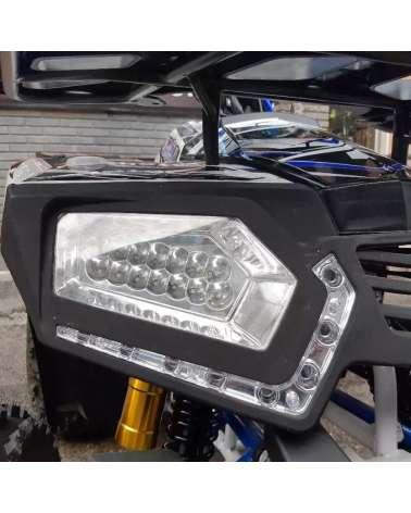Maxi Quad Hunter Lite PRO 125cc - Dettaglio Frontale