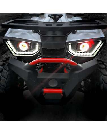 Maxi Quad Hunter Pro 200cc - Dettaglio Frontale