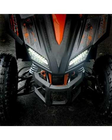 Maxi Quad SportMaxx 125cc - Dettaglio Frontale