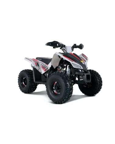Maxi Quad SportMaxx 125cc - Vista Frontale Laterale DX - Colore Bianco