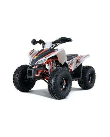 Maxi Quad SportMaxx 125cc - Vista Frontale Laterale SX - Colore Bianco