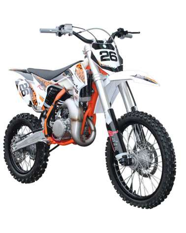 Cross MXT 150cc 19-16 - Vista Laterale Frontale