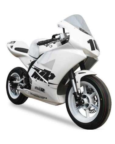 Mini GP Kayo ZS 150cc - Vista Frontale Laterale
