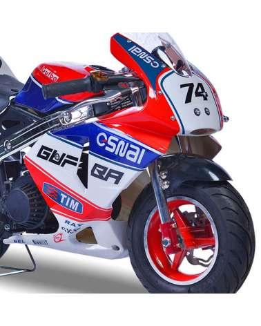 Minimoto Trofeo 49cc - Dettaglio Frontale