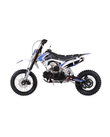 Pitbike SJR 110cc 14-12 - Vista Laterale SX