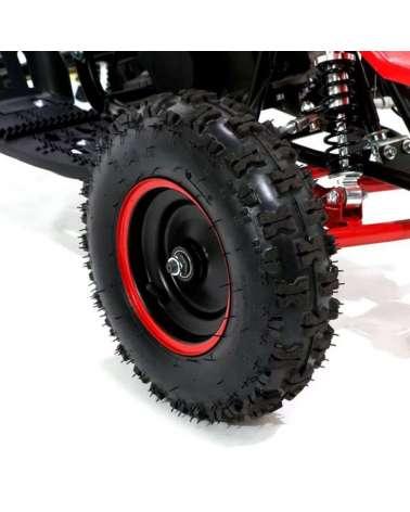 Mini quad Raptor 50cc R6 Maxi - Dettaglio Pneumatici 6 Pollici