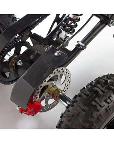 Mini quad Bandit 50cc - Dettaglio Freno a Disco Posteriore